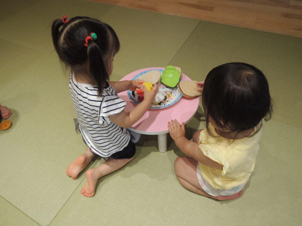 歳児 遊び 2 室内